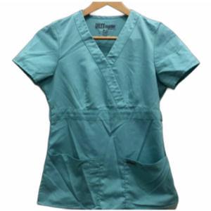 Grey's Anatomy XS scrub top aqua light blue